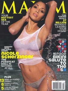 Nicole Scherzinger on Maxim cover, Nicole Scherzinger breast implants, Nicole Scherzinger plastic surgery