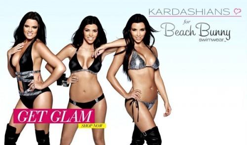 Kim Kardashian, Khloe Kardashian, Kourtney Kardashian, Kardashian sisters, beach bunny swimwear, celebrity cosmetic surgery, celebrity plastic surgery