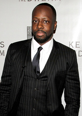 wyclef Jean running for president in Haiti, celebrity gossip