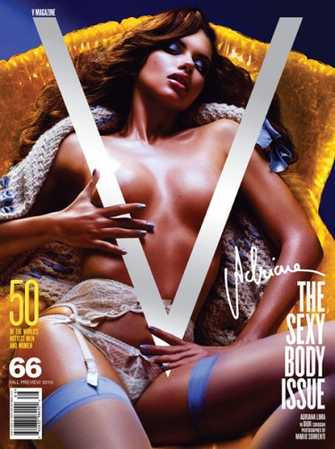 V magazine sexy body issue, celebrity gossip, adriana lima, celebrity cosmetic surgery, celebrity plastic surgery, entertainment, celebrities, beauty