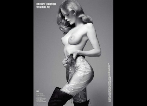 V magazine sexy body issue, adriana lima, celebrity cosmetic surgery, celebrity plastic surgery, entertainment, celebrities, beauty